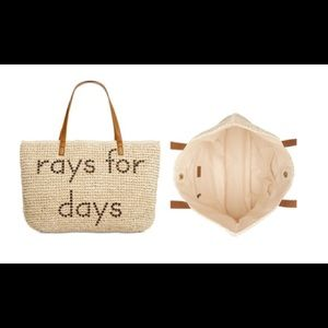 Rays for Days Beach Tote